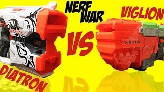 getlinkyoutube.com-Vortex Diatron vs Vigilon Nerf War!