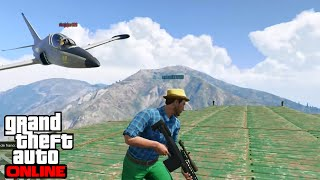 GTA V ONLINE - SNIPERS VS AVIONES - Planes De Elite