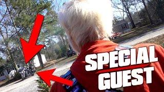 getlinkyoutube.com-GRANDPA'S SPECIAL GUEST!!