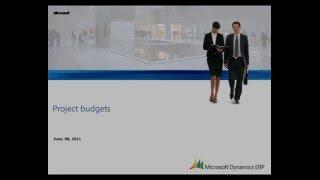 getlinkyoutube.com-Microsoft Dynamics AX: Project Budget