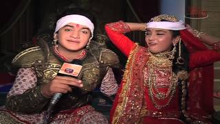 getlinkyoutube.com-Faisal and Roshni aka Kuwar Pratap and Ajabde of Maharana Pratap give Fitness Tips
