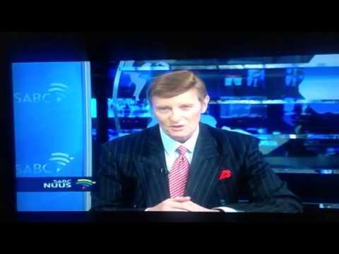 Riaan Cruywagen last news broadcast