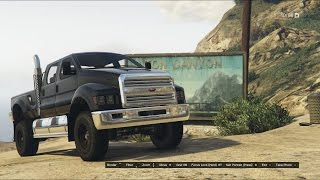 getlinkyoutube.com-GTA 5 Online: Vapid Guardian Off-Roading (Ford F-650)
