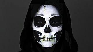 getlinkyoutube.com-Skeleton Makeup Tutorial
