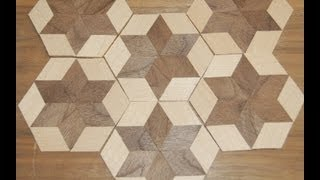getlinkyoutube.com-Woodworking Projects - How to Make Custom Designs in Wood Veneer - Band Saw Methods & Skills