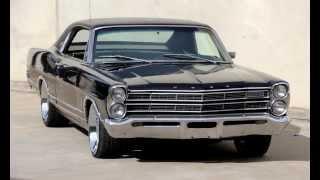 getlinkyoutube.com-1967 USA Ford LTD Galaxie Fastback Coupe 390 Big Block V8 -- 3-Speed Auto