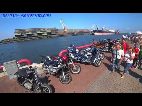 #live Слет Байкеров Европы / Meeting of bikers from Europe / KURLAND BIKE MEET