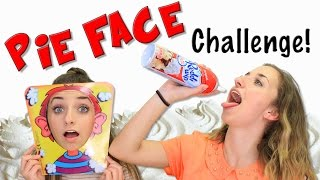 getlinkyoutube.com-Pie Face Challenge | Brooklyn and Bailey