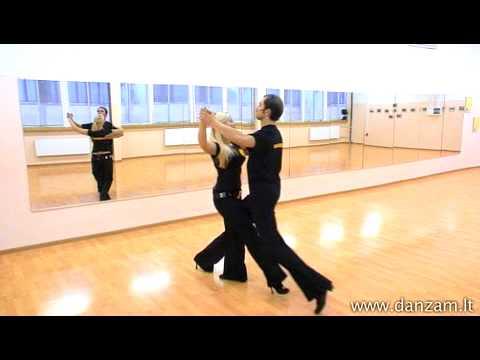 DANZA M nemokama šokių pamoka - Lėtas valsas
