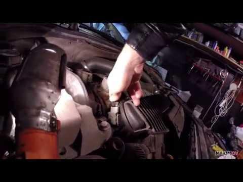Замена датчика давления и температуры топлива VOLVO S80II