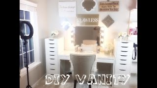 getlinkyoutube.com-DIY Vanity 2016 Start-to-Finish  | Shanese Danae