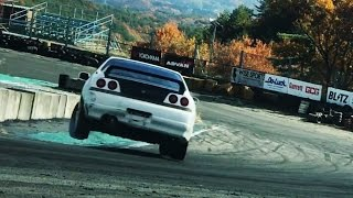 Skyline gets destroyed jump drifting!!!! LOLOLOLOL