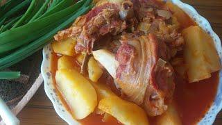 getlinkyoutube.com-Азербайджанский суп Бозбаш!!! (обалденно вкусный, густой, украшение любого праздничного стола!!!)