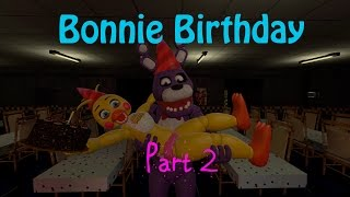 getlinkyoutube.com-(Five Nights At Freddy's sfm animation) Bonnie Birthday Part 2