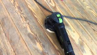 getlinkyoutube.com-Festool RO150 for stripping floors