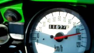KSR Top speed