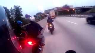 getlinkyoutube.com-Ride Balik Merdeka Raya (Suzuki BelangR, Yamaha 125ZR, Yamaha FZ)