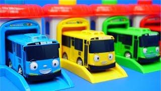 Tayo泰露小巴士 汽車出發站 韓國動畫玩具