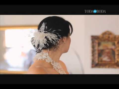 TODAMIBODA TV - Yolanda Evans Velos Mantillas y Tocados -  Toda Mi Boda (tmbplay109)