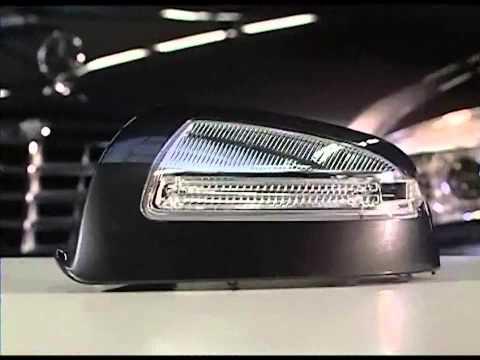 Снятие боковых стекол и зеркал Mercedes C 204