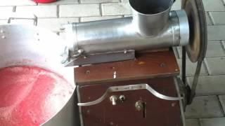 Соковыжималка 1  с электроприводом  своими руками