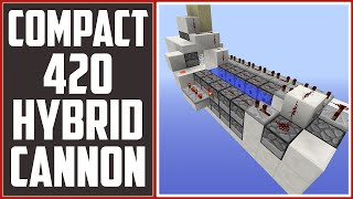 getlinkyoutube.com-Compact 420 TNT Cannon, 5-20 Sand Stack, BEST General Purpose Cannon! [5x13] - TNT Cannon Tutorial