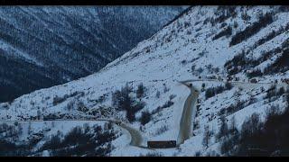getlinkyoutube.com-Hemsedalsfjellet/Hemsedal mountain pass trucking(Norway)