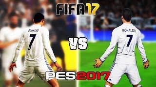 getlinkyoutube.com-FIFA 17 vs. PES 17: Celebrations