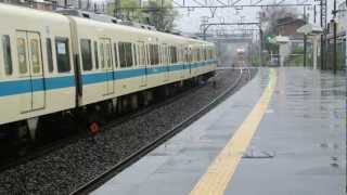 getlinkyoutube.com-2013年4月6日 小田急渋沢駅にて(3000系)