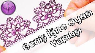 getlinkyoutube.com-Geniş İğne Oyası Yapılışı HD Kalite