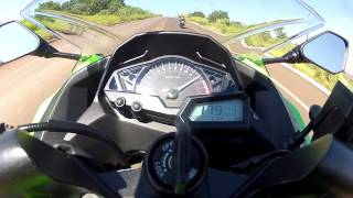 getlinkyoutube.com-TOP SPEED NINJA 300 RECORDE 194 KM/H