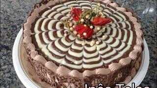 Como colorir Arabescos de Chocolate