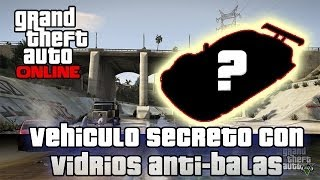 getlinkyoutube.com-GTA V Online - Vehiculo Secreto con ventanas Blindadas, no recibes daño.!
