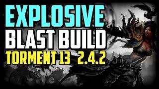 getlinkyoutube.com-Diablo 3 T13 Wizard Explosive Blast Build 2.4.2 (Season 7)