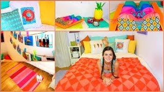 getlinkyoutube.com-DIY Summer Room Makeover - decorations + more!