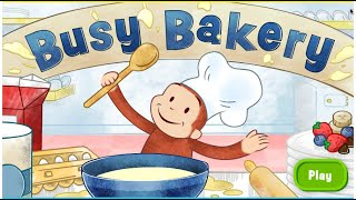getlinkyoutube.com-Curious George Busy Bakery Full Episode 2015