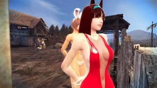 getlinkyoutube.com-[Vindictus] Let's Dance Bunny Girl
