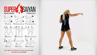 getlinkyoutube.com-Super Saiyan Workout