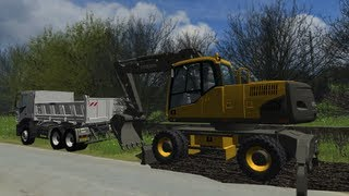 getlinkyoutube.com-Chantier / Travaux / Baustelle #3 : Farming Simulator 2011