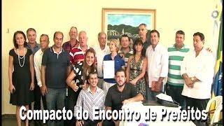 Nova Opção Notícias-Compacto da Reunião de Prefeitos para assinar Manifesto