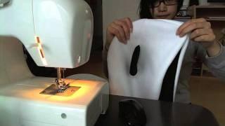 diy: panda outfit - fleece cape