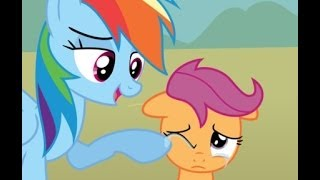 getlinkyoutube.com-MLP Comic Dub - When a Pegasus Blooms (uplifting / family - Rainbow Dash & Scootaloo)