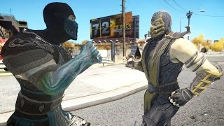 getlinkyoutube.com-Scorpion VS Sub-Zero - Epic Mortal Kombat