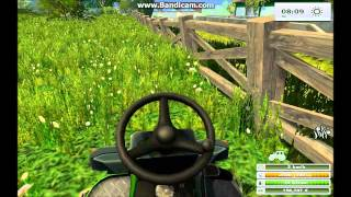 [Farming simulator 2013] Mowing grass