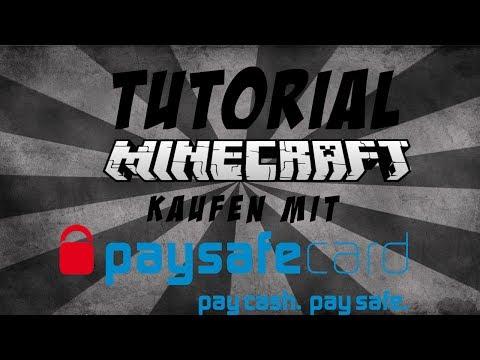 Tutorial: Wie kaufe ich mir Minecraft mit einer Paysafecard? [Offiziell | Minecraft.net]