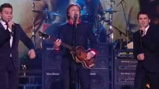 Paul McCartney X Factor Finals 2009