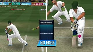 How to use ultra edge in lbw wicket in wcc2