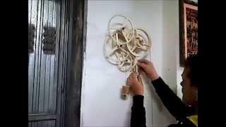 getlinkyoutube.com-Orologio in legno costruito su progetto del Rotara di Christopher Blasius