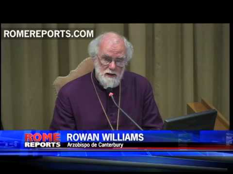 Primado anglicano Rowan Williams habla a los obispos del snodo sobre la Nueva Evangelizacin