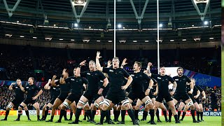 All Blacks haka at the Olympic Stadium | Rugby World Cup Video